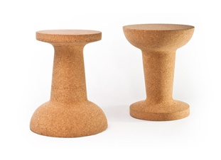 Pushpin Cork Stools