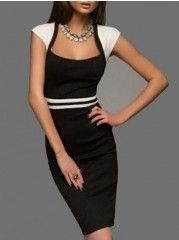 Buy Most-Viewed Black Bodycon Dresses, Cheap Bodycon Dresses Online - Fashionmia.com