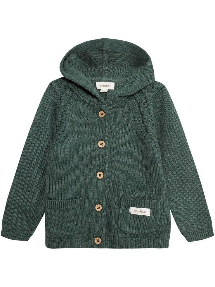 Letar du efter en stickad kofta till baby i storlek 56-86? Hos KappAhl hittar du en söt kofta med flätade detaljer. Shoppa online & i butik nära dig.