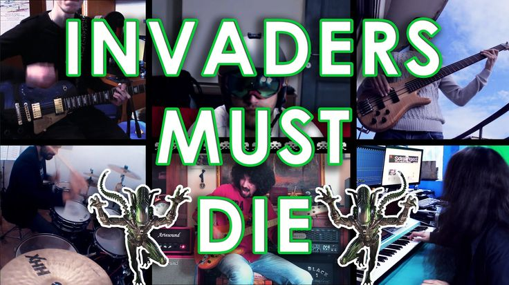 INVADERS MUST DIE - PRODIGY (FULL BAND COVER!!)