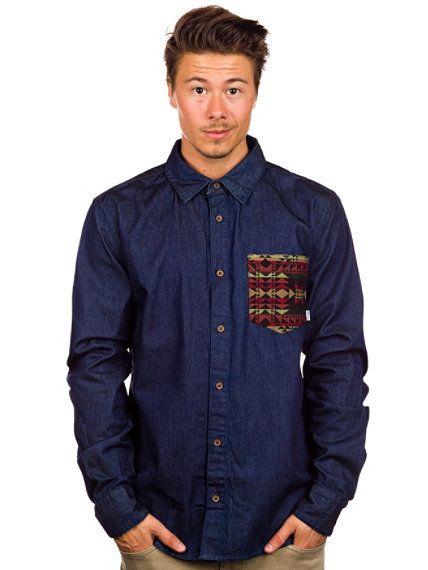 RVLT denim shirt - $105