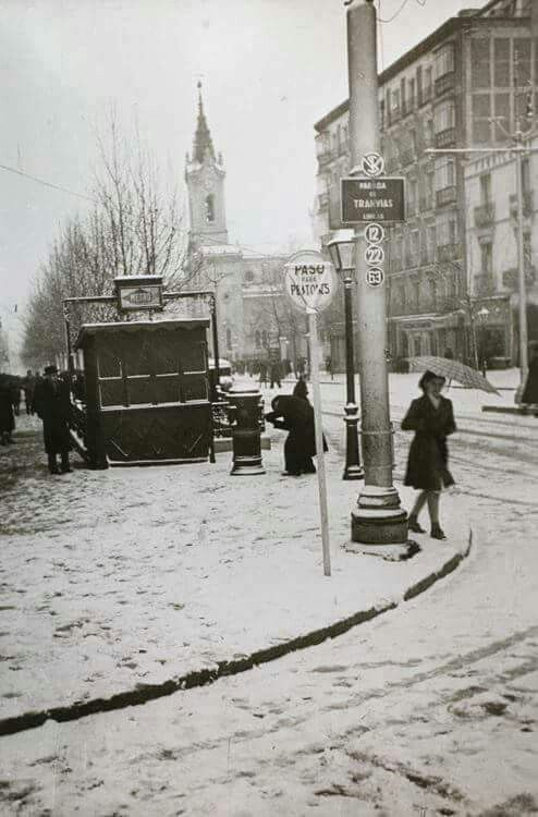 Calle Princesa, Madrid 1944