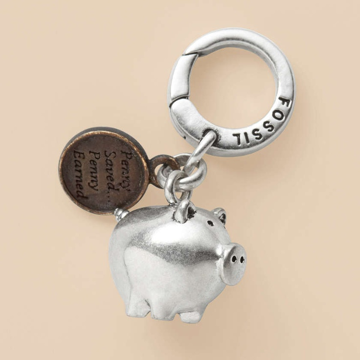 Piggy Bank Charm :)