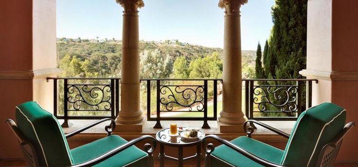 Deluxe Veranda Balcony at the  Fairmont Grand Del Mar
