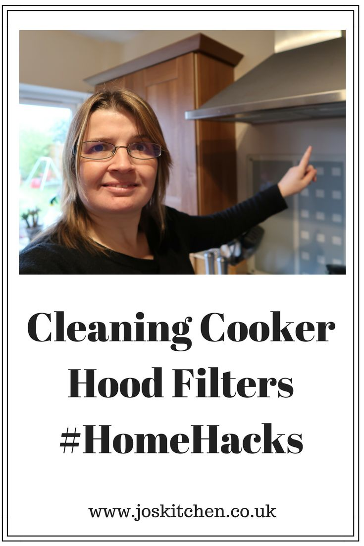 Cleaning Cooker Hood Filters #HomeHacks - Jo's Kitchen