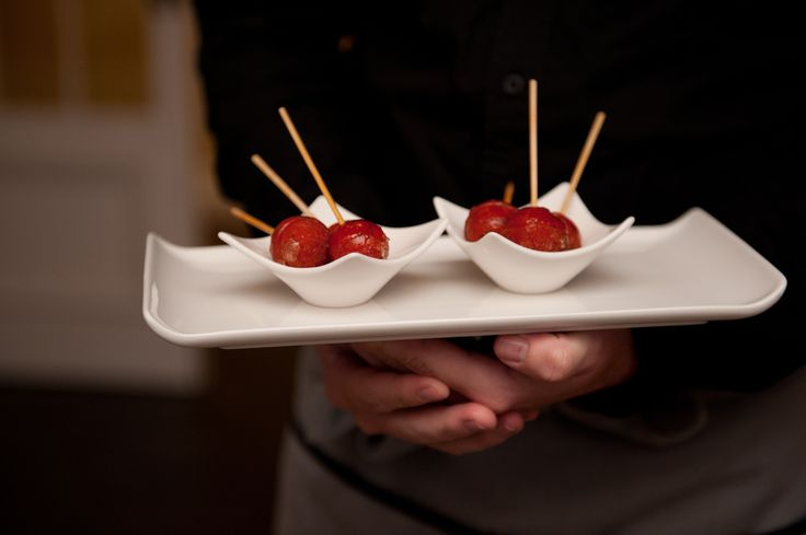 @PureRestaurant Amuse - sweet red pepper lollipop #WineandDine May2014