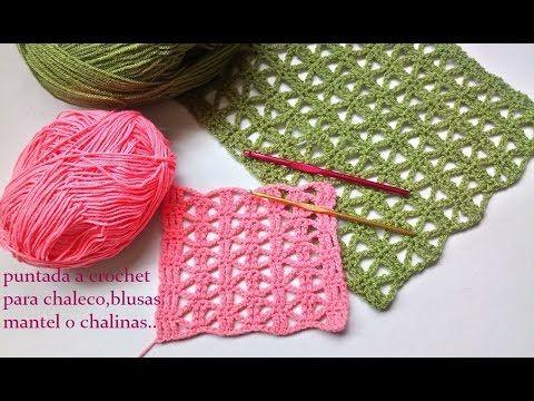 Punto a crochet para chaleco 3eb858dc22ea