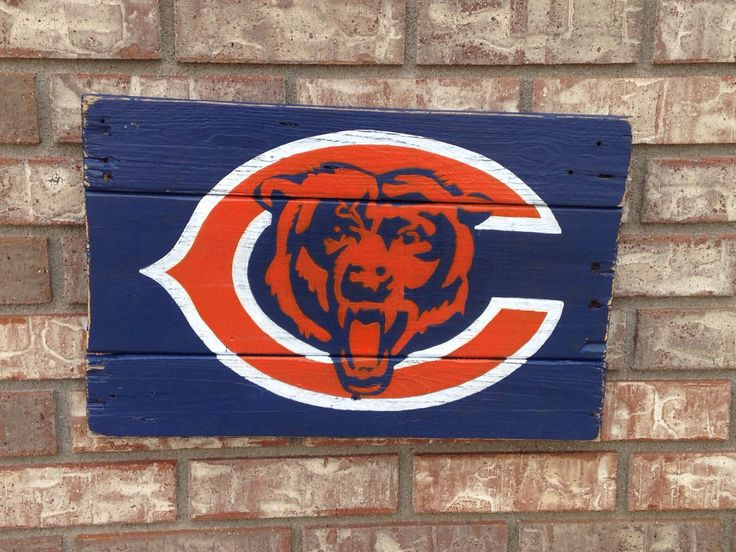 Chicago Bears Wall Art 56 best krista liane designs images on pinterest | recycled wood