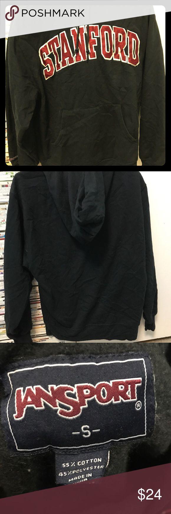 Original Jansport collagiate (Stanford) hoodie Never worn jansport Stanford hoodie with pockets Jansport Tops Sweatshirts & Hoodies