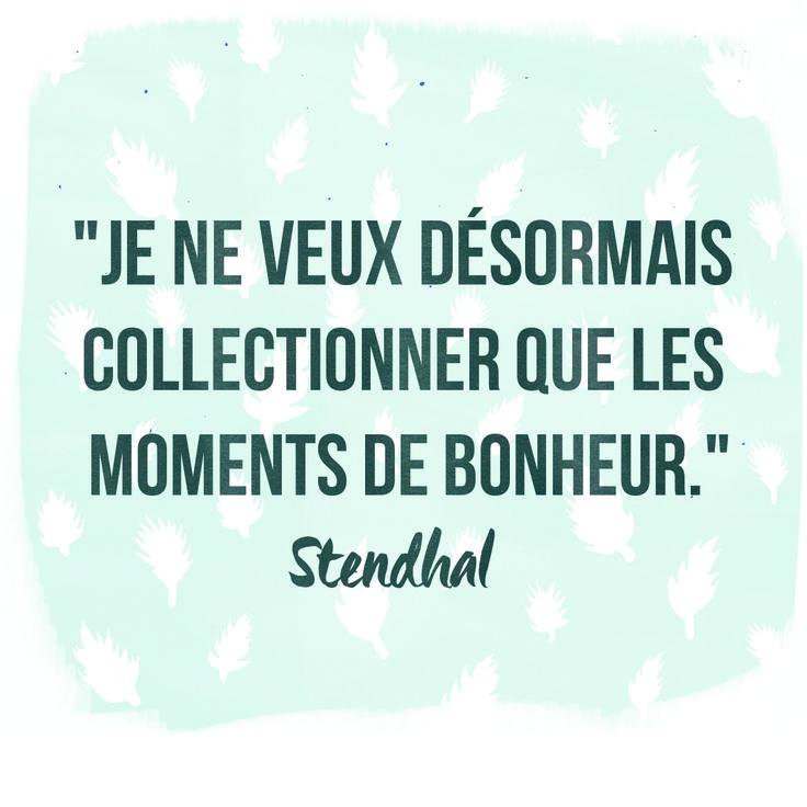 Stendhal, l'un des mes auteurs préférés...