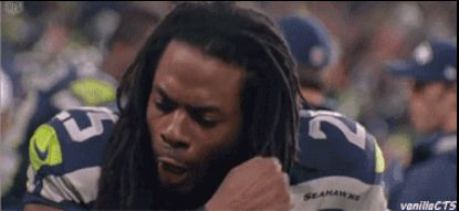 """And speaking of arms...can we just take a moment to appreciate literally <a href=""""http://www.buzzfeed.com/mjkiebus/23-reasons-richard-sherman-is-quietly-one-of-the-most-likabl"""">everything</a> about Richard Sherman?!"""