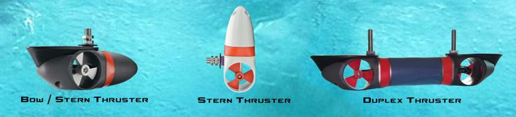 Yacht Thruster Models | Manufactured out of solid machined aluminum with a hand built, sealed motor for durability, and since Yacht Thrusters are water cooled, they have exceptionally long continuous run time and low battery drain.    Yacht Thruster offers Internal or External thrusters for bow and starn application on both powerboats and sailboats. | www.YachtThruster.com