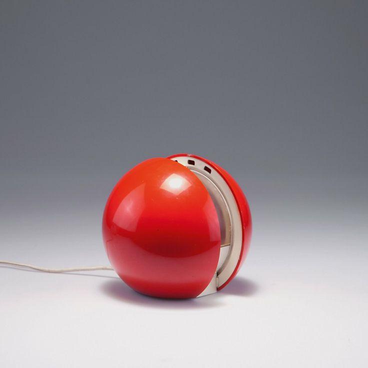 Gianni Colombo; Plastic 'GEA' Table Light for Arredoluce, c1970.