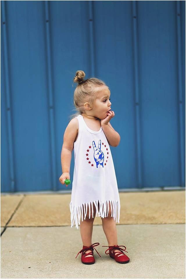 4e563f22c Custom Fringe Dress. Custom Fringe Dress Patriotic Kids 4th of July ...