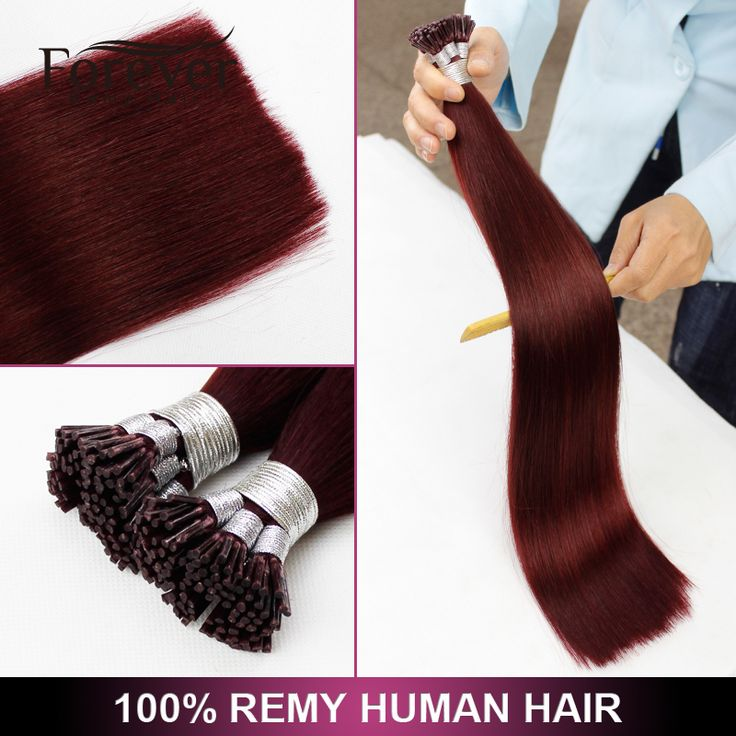 Forever Factory Price High Quality 100 Real Indian Remy Human 99j Double Drawn Pre Bonded Hair Extensions - Buy I Tip Hair Extensions Wholesale,Double Drawn I Tip Hair,Hair Extension Product on Alibaba.com