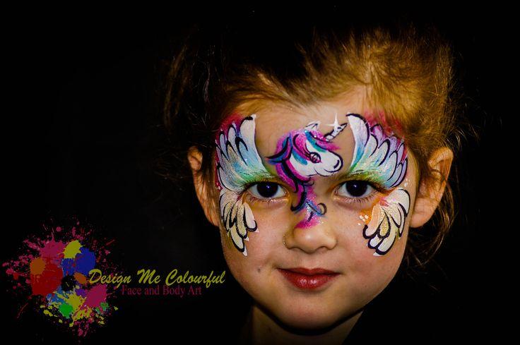 Girls Face Paint Unicorn