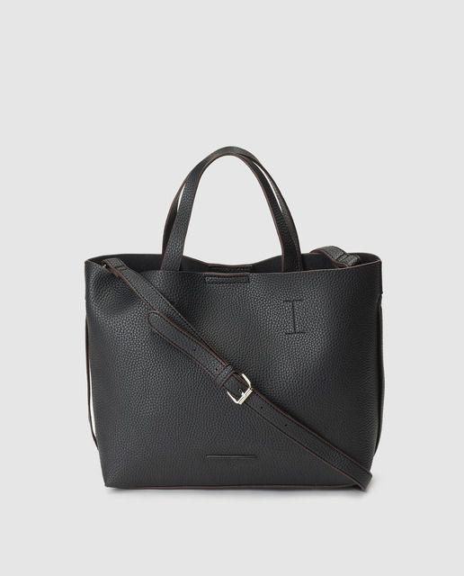 75e2a4998e09c Shopping Jo   Mr. Joe Lilys en negro con asa larga regulable