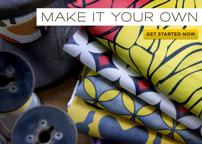 spoonflower.com - you send them a print, they make you a fabric