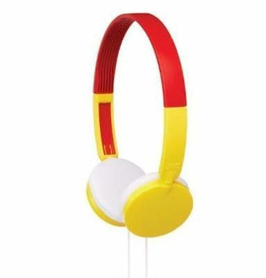 JVC Kids 3+ Tiny Phones Headphones Yellow Volume Limiting Hearing Protection