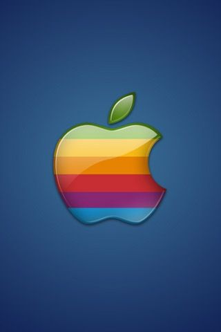 colorful apple logos. Colorful Apple Logo IPhone Wallpaper Logos