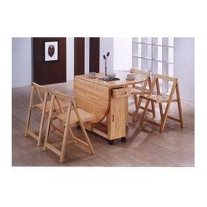 Kitchen Table Folding Sides Leaf Tables For Small