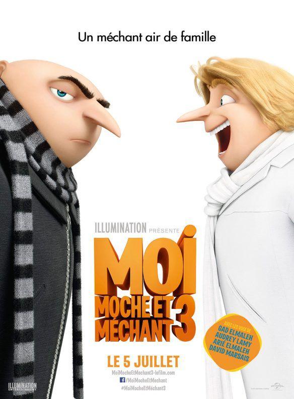 [FILMS] Moi, Moche et Méchant 3 – Despicable Me 3 : Pierre Coffin & Kyle Balda (2017) | The Cannibal Lecteur