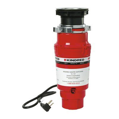 Kindred KWD50C2/EZ Continuous Feed Waste Disposer