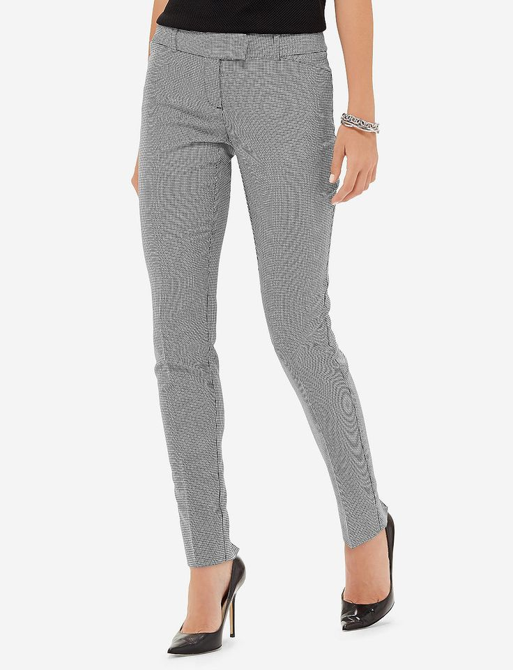 Drew Houndstooth Skinny Pants | Women's Pants | THE LIMITED