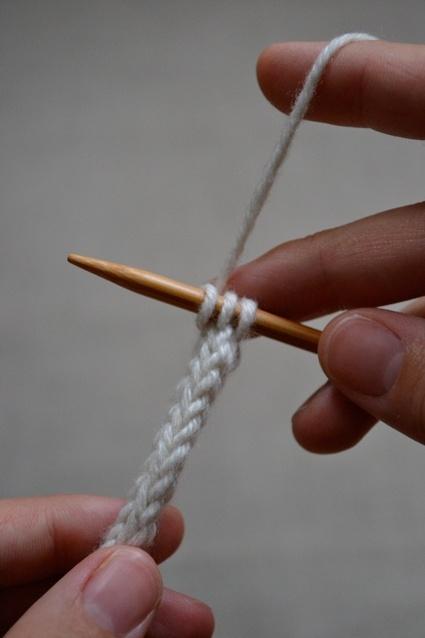Вязание шнурка из 3-х птель