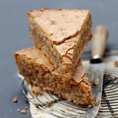 Découvrez la recette Gâteau creusois aux noisettes sur cuisineactuelle.fr.