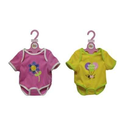 """T-Shirt & Diaper for 16-18"""" Doll (these will fit her Baby Alive Doll)"""