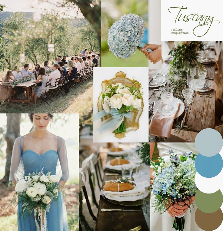 Tuscany Wedding Inspiration Moodboard to match the new Tuscany collection of wedding stationery by http://knotsandkisses.co.uk