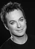 Julian Clary .  He doesn't need makeup