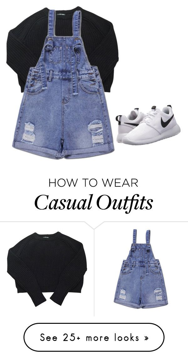 """""""Untitled #3351"""" by selinalindroth on Polyvore featuring NIKE and American Apparel"""