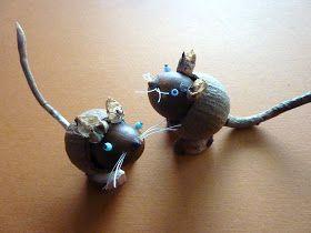 DE GULLE AARDE: eikel muizen