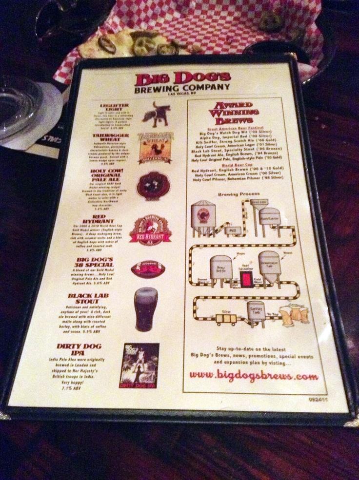 Big Dogs Brewing Company, Las Vegas Nevada