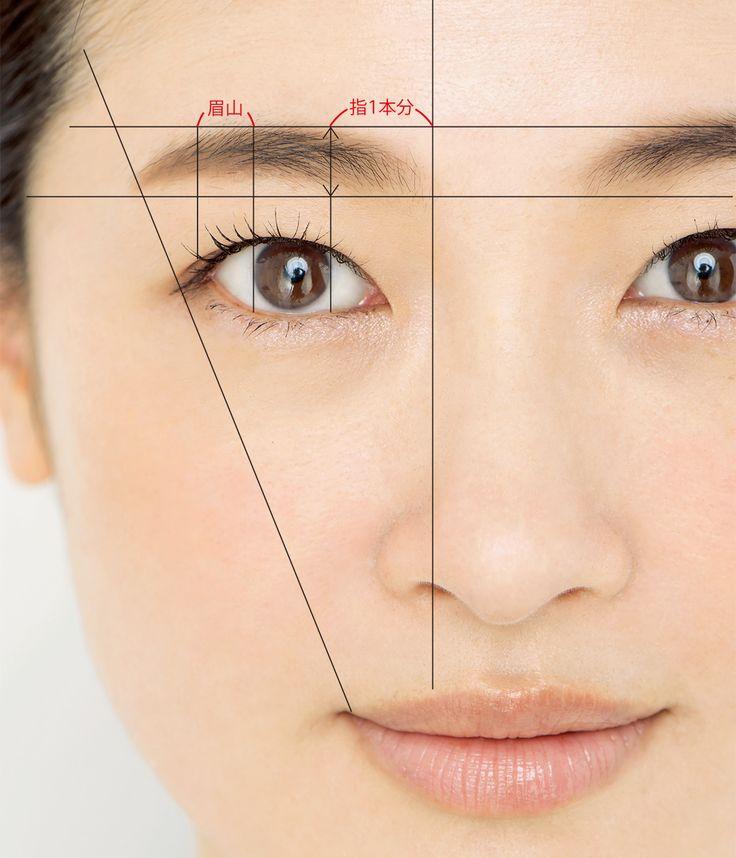 むかし覚えた眉の呪縛にとらわれていない? これが今のアラフォーの理想眉設計図!Marisol ONLINE 女っぷり上々!40代をもっとキレイに。