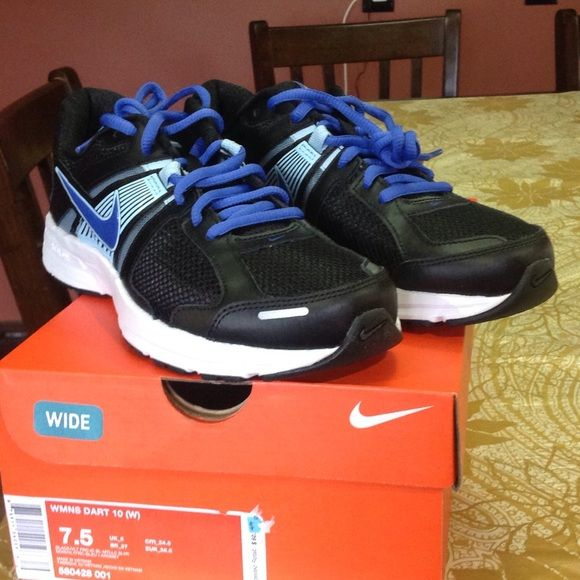 New Nike Shoes. Brand new Dart 10 (W) Nike shoes size 7.5. They have been sold out in other Website Nike Shoes