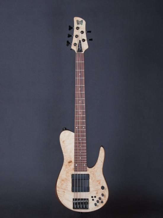 A Fodera Matt Garrison Standard... absolutely stunning.
