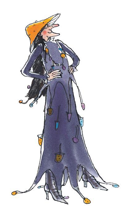 De boze heks, getekend door Annemarie van Haeringen