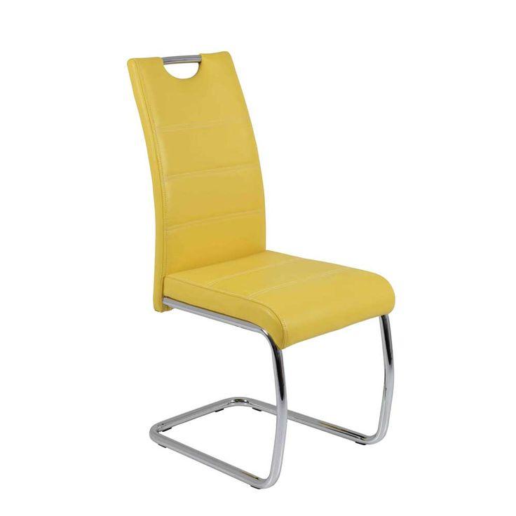 Die besten 25+ gelbe Essstuhl Ideen auf Pinterest Küchenstühle - esszimmer mobel musterring