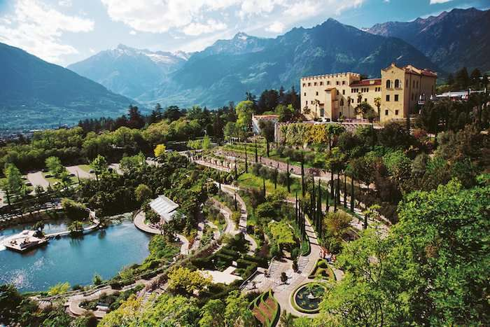 Trauttmansdorff Castle Gardens in Merano are well worth a visit.
