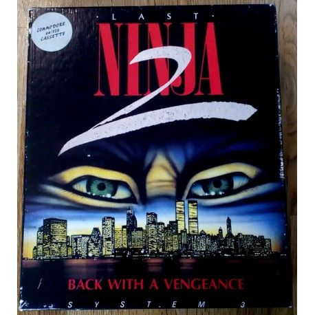 The Last Ninja 2: Back With A Vengeance (System 3) Commodore 64