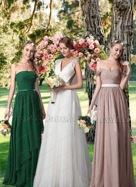 Красивое Платье Подружки Невесты