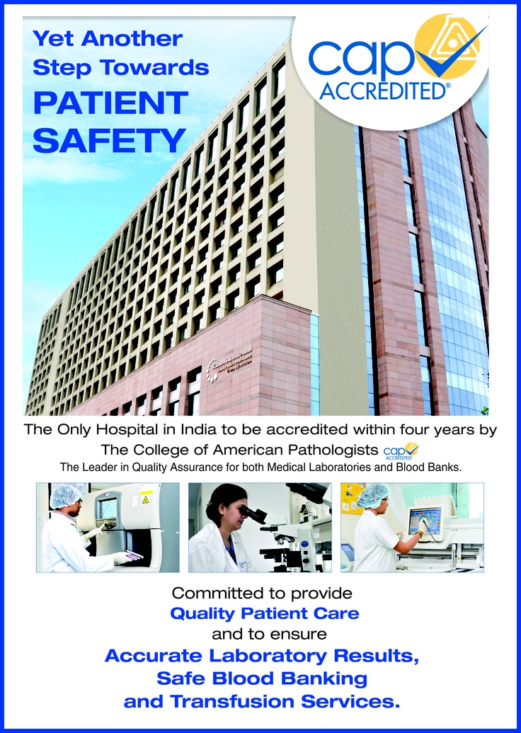 Kokilaben Dhirubhai Ambani Hospital is the Only Hospital in Western India to be awarded with an internationally recognised CAP accreditation within four years of establishment for both Medical Laboratory and Blood Bank. Kokilaben Hospital remains committed to ensure accurate Laboratory Results, Safe Blood Banking and Transfusion Services