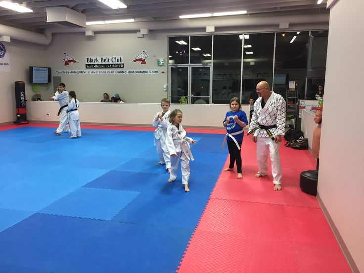 Kids class at Glenmore Martial Arts