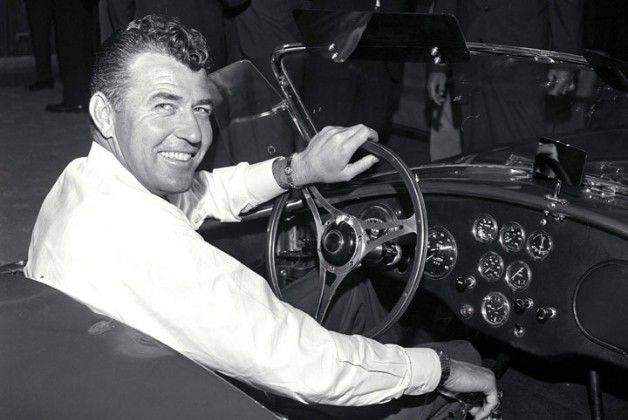 "Carroll Shelby. Philosophy on car interior: Give me comfortable seat and a good steering wheel and piss on the rest.  He also said he put the fog lights in the middle of the grill ""..because they look good there."""
