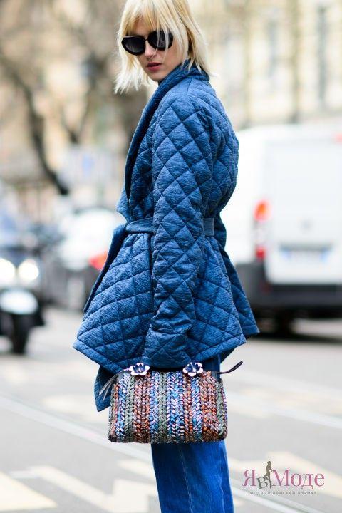 Уличная мода Милана осень-зима 2016-2017