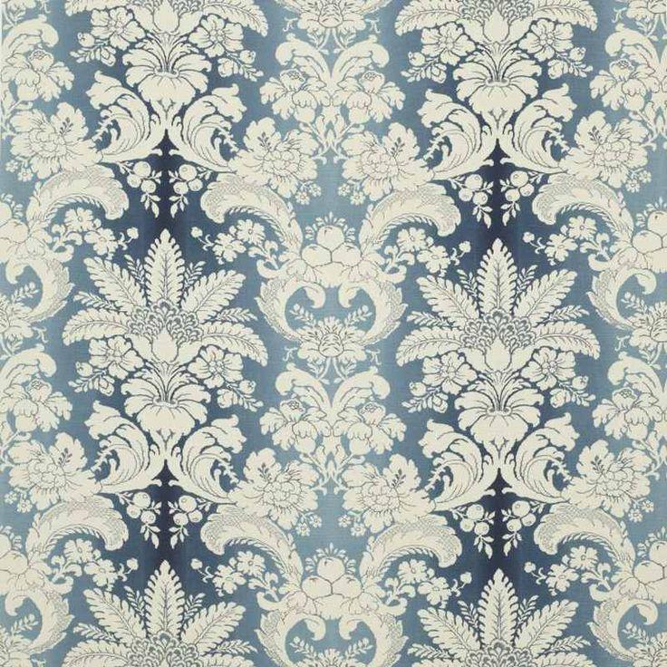 Warwick Fabrics : WYNDHAM Indigo