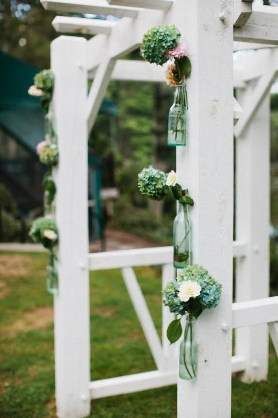 15 mejores imgenes de 16 wedding arches lead you to happiness aisle 2014 diy wedding arch the green flowers with glasses wedding arch decor 2014 solutioingenieria Images